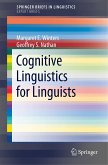 Cognitive Linguistics for Linguists