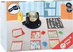 Small Foot 11406 - Bingo Spiel Set, mit Bingotromme, Familienspiell