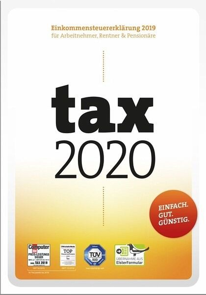 tax 2020 (DVD-Box), 1 CD-ROM