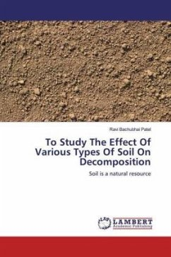 To Study The Effect Of Various Types Of Soil On Decomposition