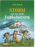 Storm und der große Fußballsturm / Storm oder die Erfindung des Fußballs Bd.3