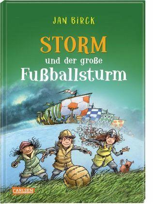 Buch-Reihe Storm oder die Erfindung des Fußballs