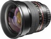 walimex pro 85/1,4 CSC Sony E schwarz Objektiv für Sony E-Mount (72 mm Filtergewinde, APS-C Sensor)