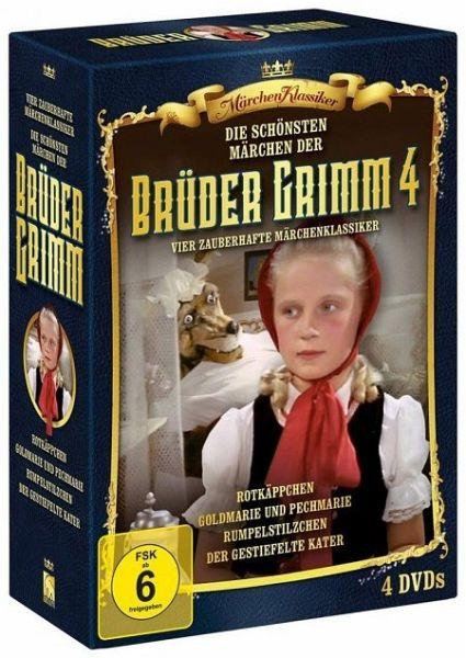 die schönsten märchen der brüder grimm  box 4 auf dvd