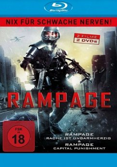 Rampage Double Feature - Fletcher,Brendan/Frewer,Matt/Sipos,Shaun/+
