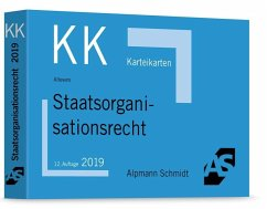 Staatsorganisationsrecht / Alpmann-Cards, Karteikarten (KK) - Altevers, Ralf