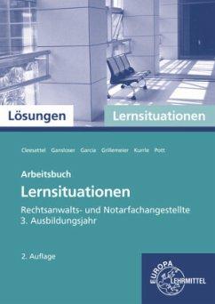 Rechtsanwalts- und Notarfachangestellte, Lernsituationen 3. Ausbildungsjahr, Lösungen