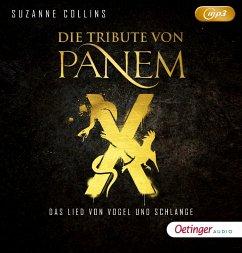 Die Tribute von Panem X: Das Lied von Vogel und Schlange / Die Tribute von Panem Bd.4 (1MP3-CDs) - Collins, Suzanne