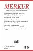 MERKUR Gegründet 1947 als Deutsche Zeitschrift für europäisches Denken - 2019-10 (eBook, ePUB)