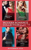 Modern Romance November 2019 Books 1-4: His Contract Christmas Bride (Conveniently Wed!) / Confessions of a Pregnant Cinderella / The Italian's Christmas Proposition / Christmas Baby for the Greek (eBook, ePUB)