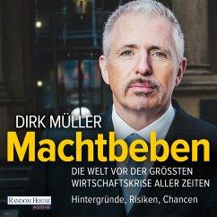 Machtbeben (MP3-Download) - Müller, Dirk