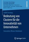 Bedeutung von Clustern für die Innovativität von Unternehmen (eBook, PDF)