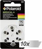10x6 Polaroid Zinc Air 10 Hörgeräte Batterien