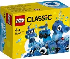 LEGO® Classic 11006 - Blaues Kreativ-Set, Bausatz, 52 Teile