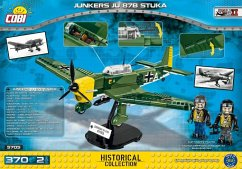 COBI 5705 - Historical Collection, Junkers JU 87B Stuka, Flugzeug, Konstruktionsspielzeug, 370 Teile