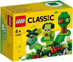 LEGO® Classic 11007 - Grünes Kreativ-Set, Bausatz, 60 Teile