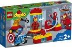LEGO® DUPLO® 10921 - Iron Mans Labor-Treffpunkt, Spider-Man-, Iron Man- und Captain America-Figur, Marvel Super Hero, Bauset, 30 Teile