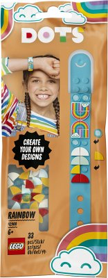 LEGO® DOTs 41900 Regenbogen Armband