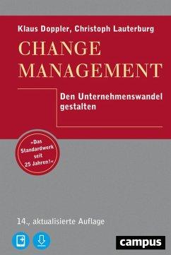 Change Management (eBook, PDF) - Doppler, Klaus; Lauterburg, Christoph