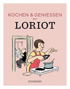 Kochen & genießen mit Loriot (Mängelexemplar) - Loriot