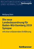 Die neue Landesbauordnung für Baden-Württemberg 2019 Synopse (eBook, ePUB)