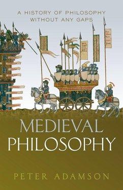 Medieval Philosophy (eBook, ePUB) - Adamson, Peter