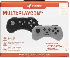 Snakebyte Nsw Multi:Playcon (Black And Grey)