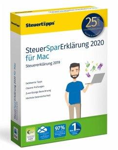 SteuerSparErklärung MAC 2020 (für Steuerjahr 2019)