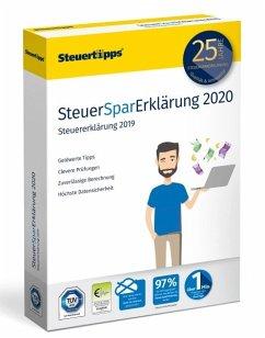 SteuerSparErklärung 2020 (für Steuerjahr 2019)