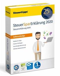 SteuerSparErklärung Selbstständige 2020 (für Steuerjahr 2019)