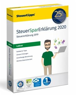 SteuerSparErklärung Lehrer 2020 (für Steuerjahr 2019)