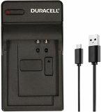 Duracell Ladegerät mit USB Kabel für Panasonic CGA-DU07