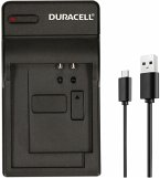 Duracell Ladegerät mit USB Kabel für Canon NB-1L