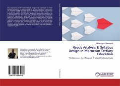 Needs Analysis & Syllabus Design in Moroccan Tertiary Education