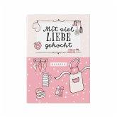 Rezeptbuch zum Selberschreiben in rosa