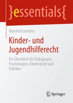 Kinder- und Jugendhilferecht - Günther, Manfred