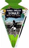 Schultüten-Kratzelbuch - Fußball - Hurra, endlich Schule!