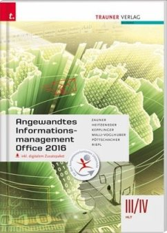 Angewandtes Informationsmanagement III/IV HLT Office 2016, inkl. digitalem Zusatzpaket