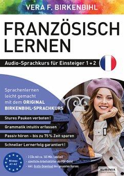 Französisch lernen Audio-Sprachkurs für Einsteiger 1+2, 3 Audio-CD - Birkenbihl, Vera F.