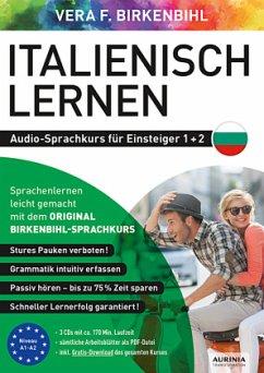 Italienisch lernen Audio-Sprachkurs für Einsteiger 1+2, 3 Audio-CD - Birkenbihl, Vera F.