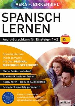 Spanisch lernen Audio-Sprachkurs für Einsteiger 1+2, 3 Audio-CD - Birkenbihl, Vera F.