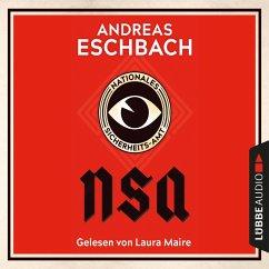 NSA - Nationales Sicherheits-Amt (Ungekürzt) (MP3-Download) - Eschbach, Andreas