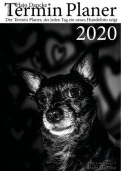 Termin Planer 2020 mit Hundefotos für jeden Tag