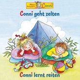 Conni geht zelten / Conni lernt reiten (MP3-Download)