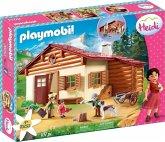 PLAYMOBIL® 70253 Heidi und Großvater auf der Almhütte