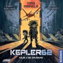 Die Einladung / Kepler62 Bd.1 (MP3-Download) - Parvela, Timo; Sortland, Bjørn