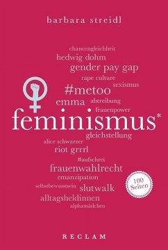 Feminismus. 100 Seiten (eBook, ePUB) - Streidl, Barbara