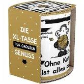 """Sheepworld XL-Tasse 45991 """"Ohne Katze ist alle doof"""""""