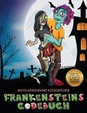 Bestes Geheimwort Rätselbücher (Frankensteins Codebuch): Jason Frankenstein sucht seine Freundin Melisa. Hilf Jason anhand der mitgelieferten Karte, d