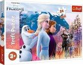 Trefl 14298 - Disney, Frozen 2, Die Eiskönigin, Magische Reise, Puzzle, 24 Maxi-Teile